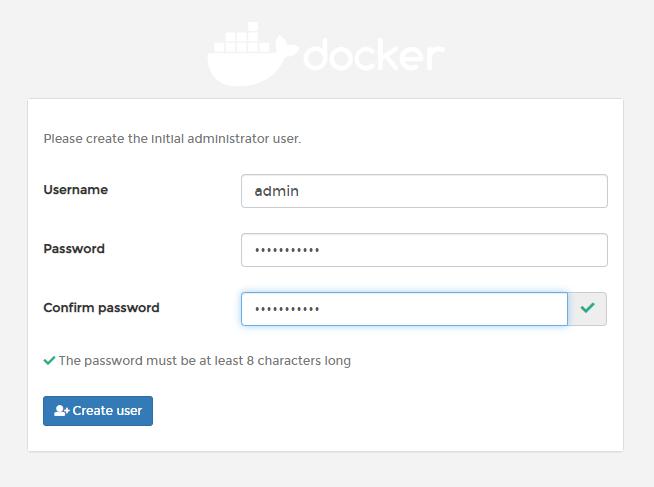 安装Docker的UI管理器:Portainer