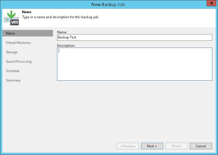 Veeam Backup & Replication 10 测试#4 (创建备份任务)